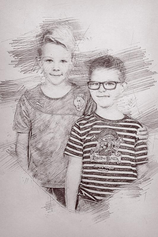 Kresleny portret foceni zs ms-4787