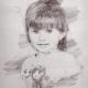 Školní focení kreslený portrét mateřská základní škola-6