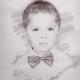 Školní focení kreslený portrét mateřská základní škola-8