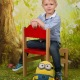Školní focení lesní zákoutí celá postava portrét mateřská základní škola-3