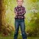 Školní focení lesní zákoutí celá postava portrét mateřská základní škola-6