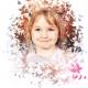 Školní focení portrét motýlci MŠ (4)