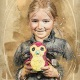 Školní focení retro ilustrace portrét mateřská základní škola-4