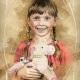 Školní focení retro ilustrace portrét mateřská základní škola-6