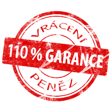 Záruka 110% GARANCE PENĚZ