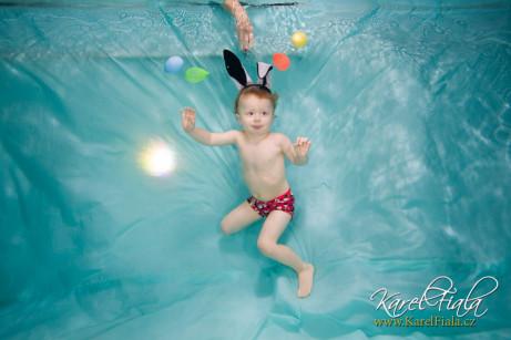Foto pod vodou retušování