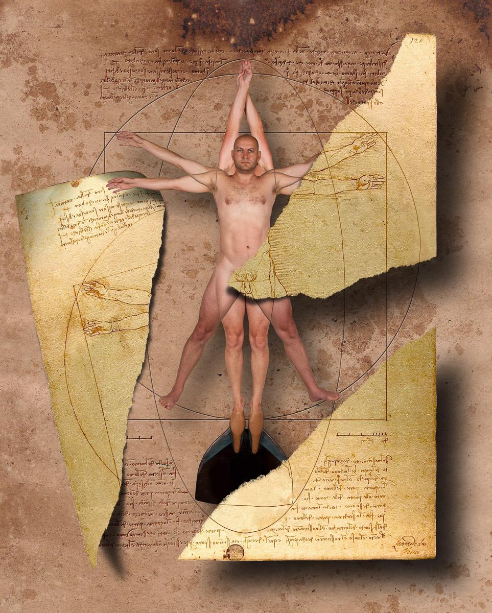 Tajemství Da Vinciho kresby Vitruviálního muže