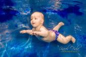 Focení pod vodou a ve vodě v baby klubu
