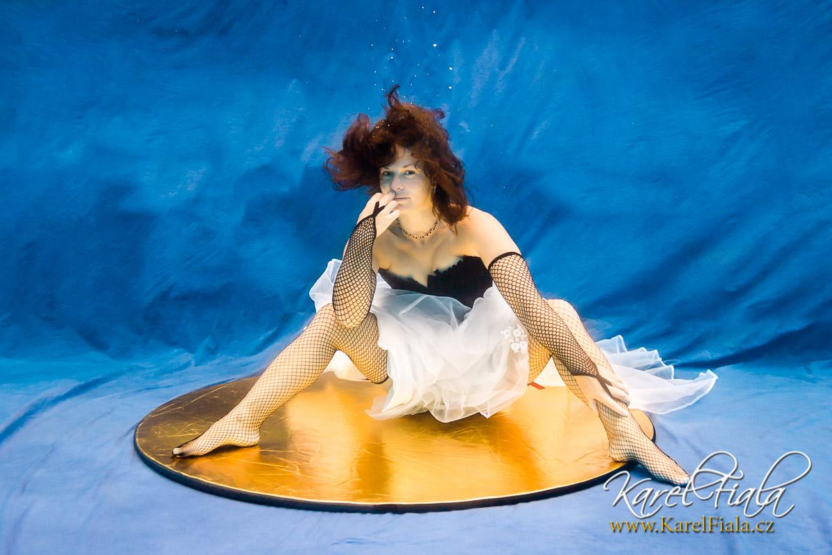 foto pod vodou