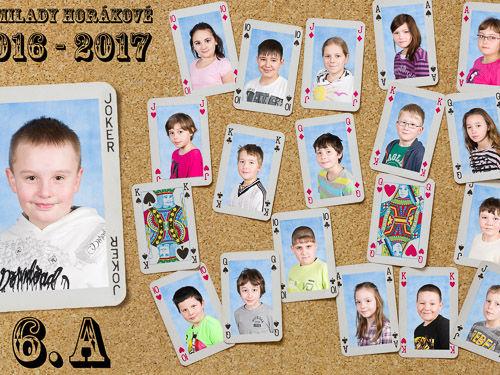 Tablo karty školní třída