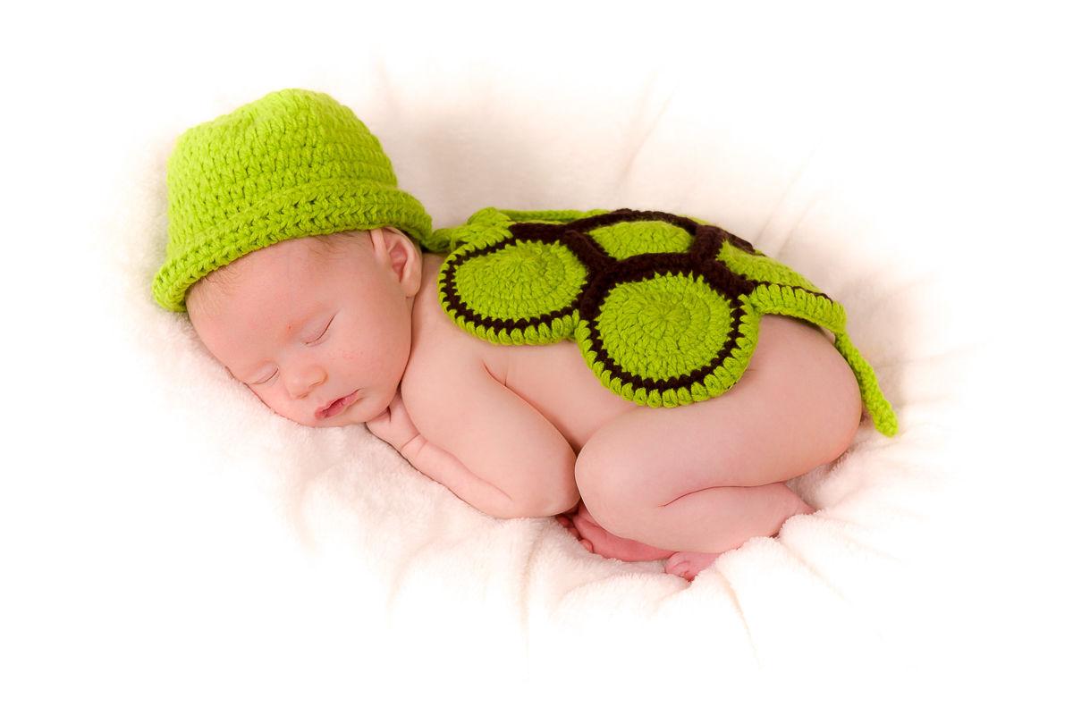 Focení novorozenců vdomácím prostředí